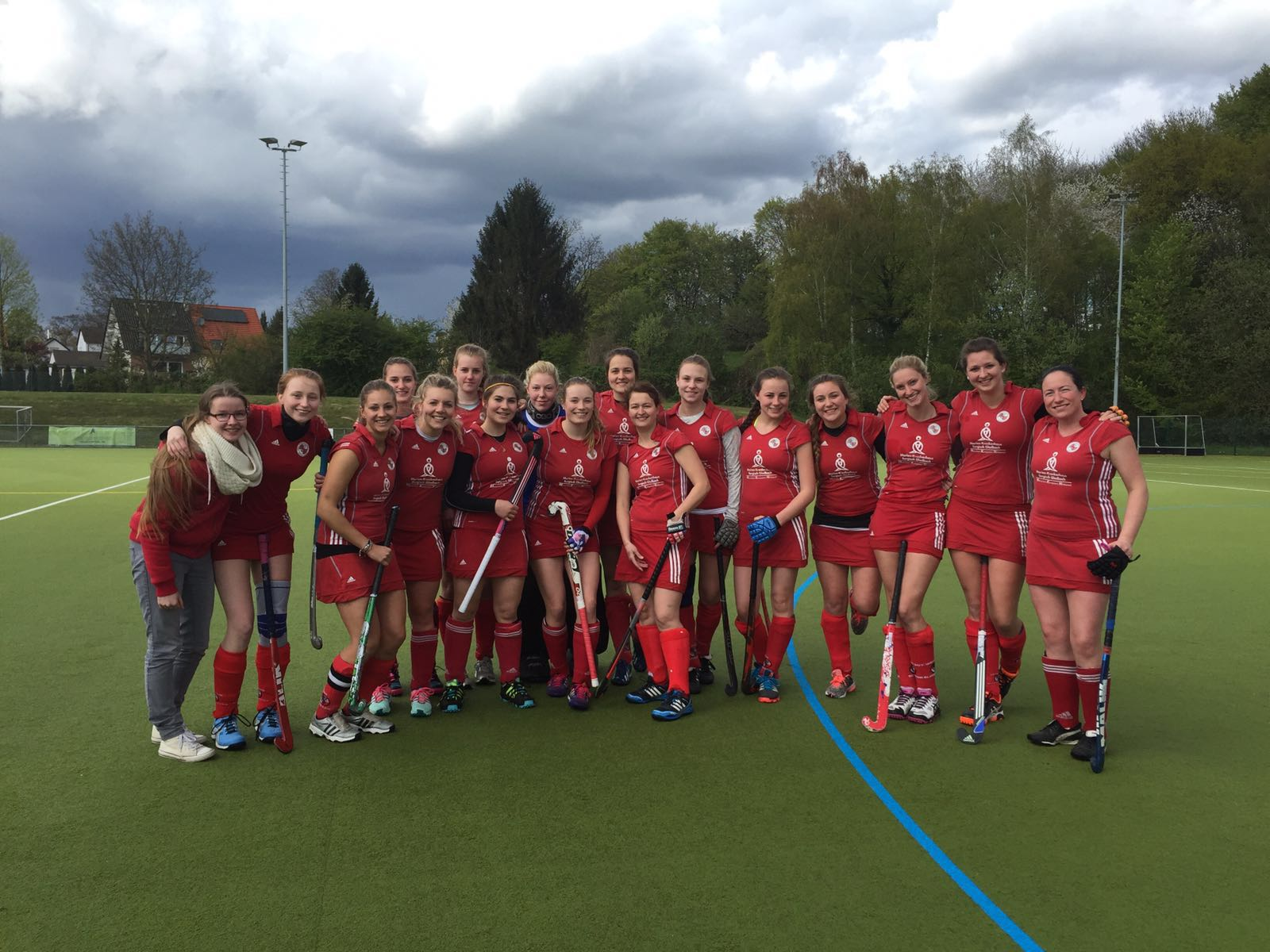 Hockey Damen 24.04.2016